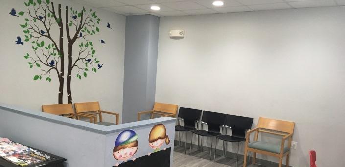Kids Dentist Waiting Room